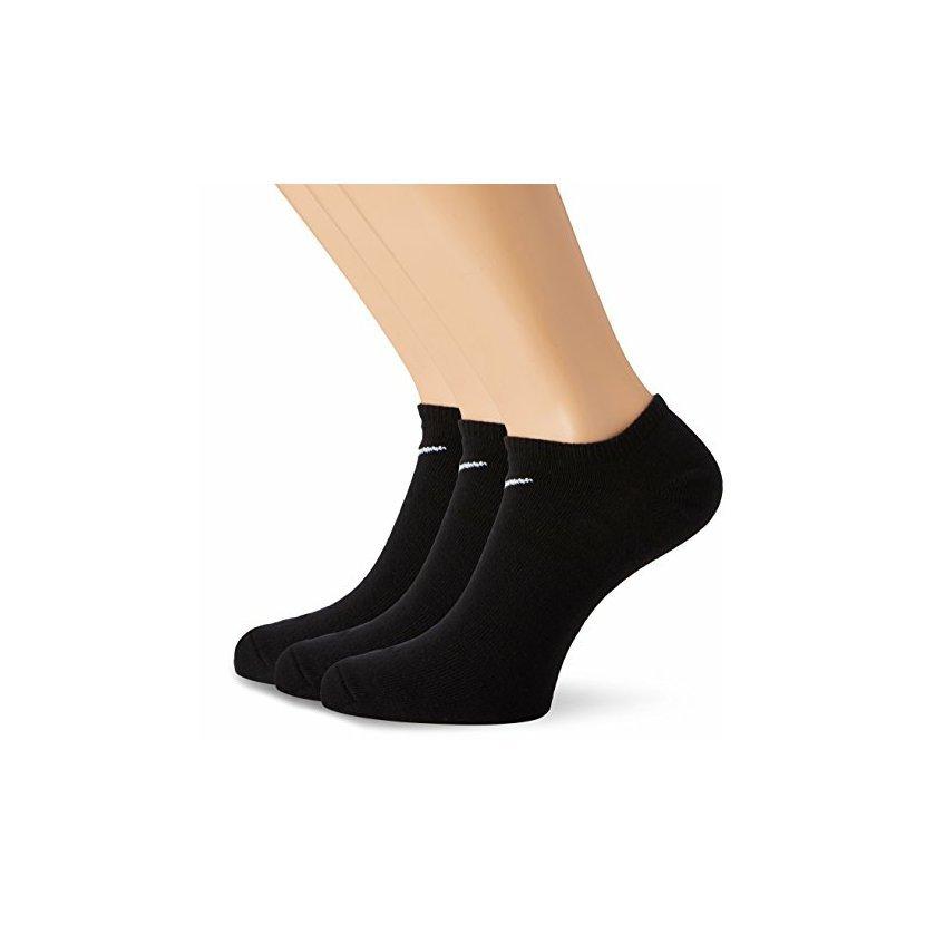 Kotníkové ponožky Nike - 3 páry v černé barvě. 32b0a3206f