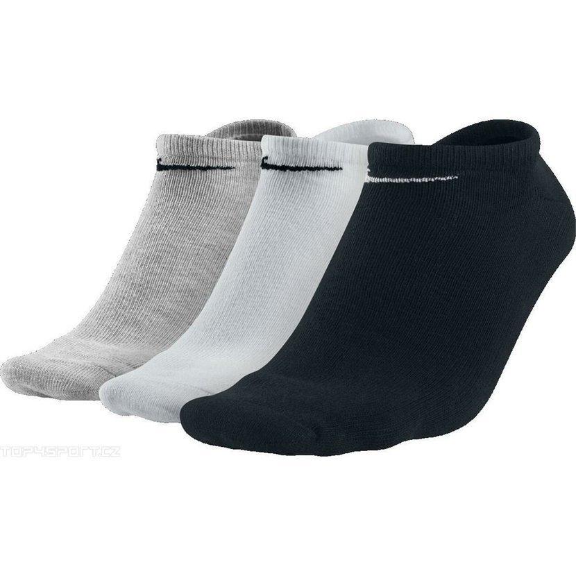 Kotníkové ponožky Nike - 3 páry ve třech barvách. 03bd8b0f7d