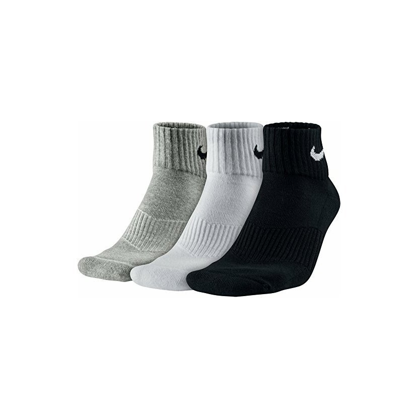 Klasické univerzální ponožky Nike - 3 páry v kombinaci bílo d43f56d265